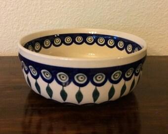 Polish Pottery Bowl