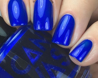 Sweater Weather by CANVAS lacquer - a bold blue