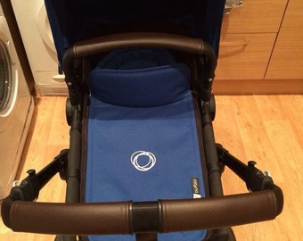 Bugaboo Buffalo faux leather handle and bumper covers