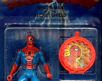 1984 Spider-Man w/ Secret Shield -SEALED