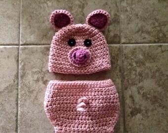 Piggy Baby Photo Prop Set