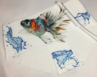 MISFIT Sale of the Koi Fish and Splash. Hand printed; Medium only