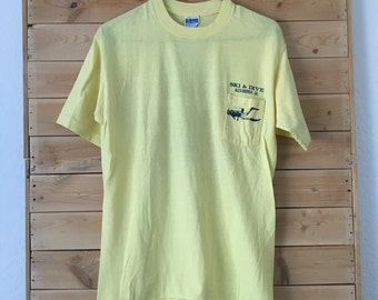 Vintage Virginia Shirt // Vintage Diving Shirt // Vintage Water Sports Shirt