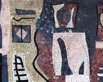 Contemporary Art Mosaic Mural
