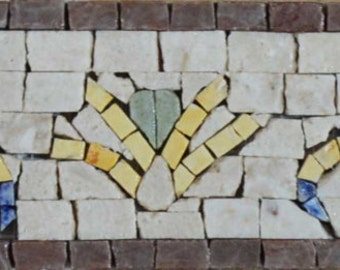 Mosaic Border Art - Romania Arabesque