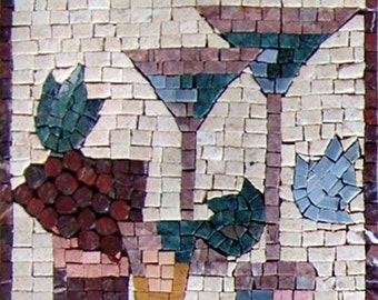 Mosaic Kitchen Backsplash- Contempo
