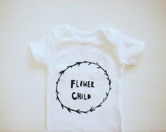 Baby Bodysuit- Flower Child