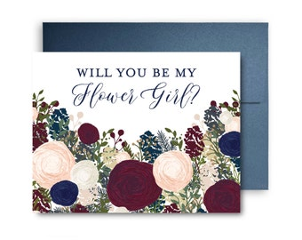 Will You Be My Bridesmaid Card, Bridesmaid Maid of Honor Gift, Will You Be My Maid of Honor, Matron of Honor, Brides Man, Flower Girl #CL137