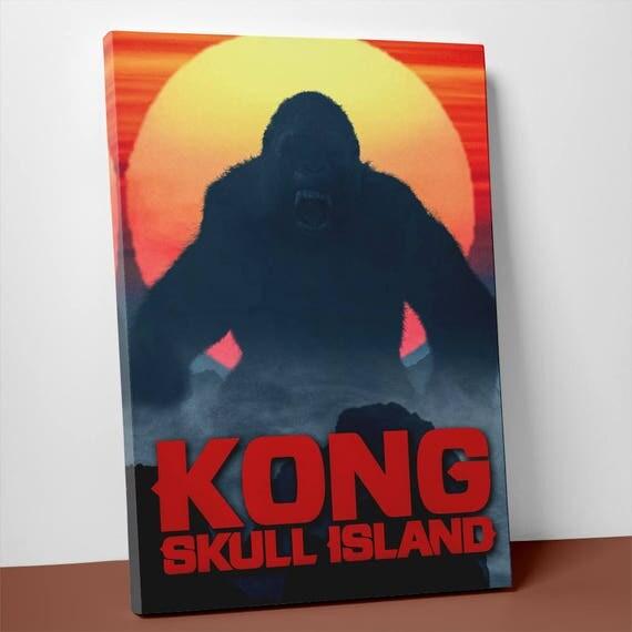 Kong Skull Island 2017| Canvas