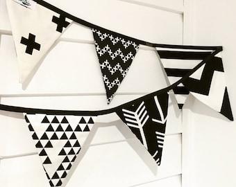 Fabric bunting / garland / flags / nursery decor