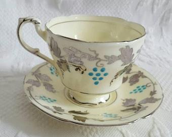 Antique PARAGON Tea Cup and Saucer