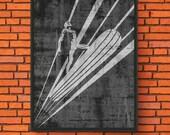 Minimalism Art - Silver S...
