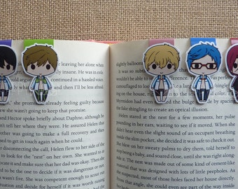 Magnetic Bookmarks • The Swim Team