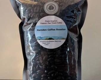 Mexican - Whole Bean, Fresh Roasted, Organic, Fair Trade Arabica Coffee