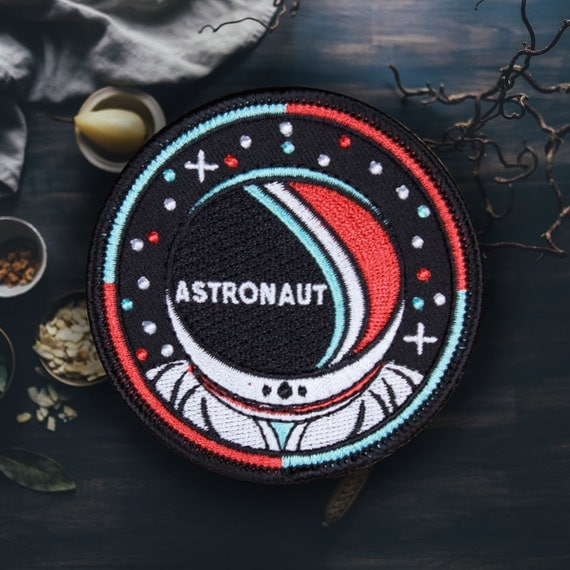 Space Astronaut Patch Free Shipping US by ForTheLoveOfPatch