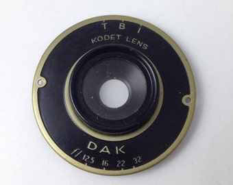 Vintage Kodat DAK Lens Piece