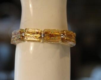 Amber Specks Bracelet