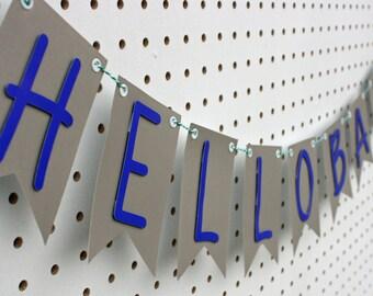 Hello Baby! Banner