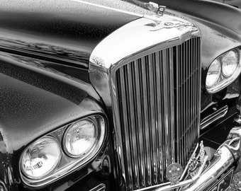 Bentley S3 fine art black and white photo