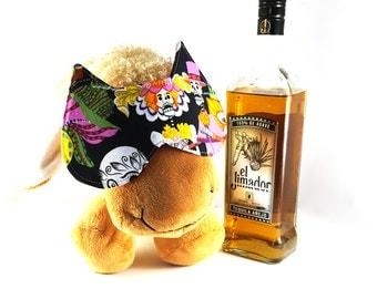 Hangover Sleep Mask - Day of the Dead Sugar Skull Mask - Sleep in Late Mask - Sleep Mask - Meow Sleep Mask - Dia de Los Muertos Night Mask