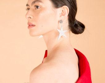 Acrylic Star Earrings