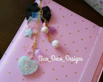 Custom bag planner phone charm strap - large
