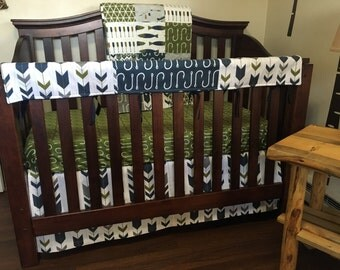Fishing Nursery Crib Bedding - Fishing Baby Nursery - Nautical Baby Bedding - Fishing Baby Bedding - Fishing Baby Quilt - Fish Crib bedding