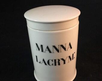 French Antique Pharmacy Jar