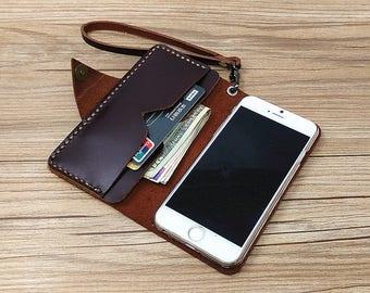 Fits Samsung Galaxy S8 C ase, Samsung Galaxy S8 Plus Case, Leatehr Samsung S8 Sleeve, Samsung S8 Plus Cover, Wristlet Samsung Case, G621
