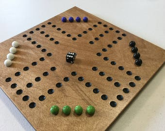 Aggravation, Game Board, Wood, Glass Marbles, Wooden, Game Boards, Marbles, Marble Board, Marble Game, Family Fun