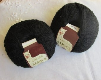 Yarn - Alpaca Wool - Jaegar - Made in Peru - Black