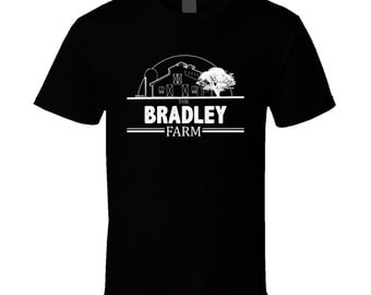 The Bradley Farm American Family Rural Farm T Shirt