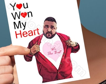 Anniversary Card | Dj Khaled | Anniversary Gifts Anniversary For Her 2Nd Anniversary Gift Funny Romance Card For Boyfriend Card For Him