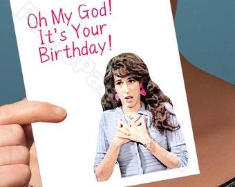 Funny Birthday Card   Friends Tv Show   Boyfriend Bday Card Birthday Gift Funny Birthday Gift 21St Birthday Card Boyfriend Card Gift For Him