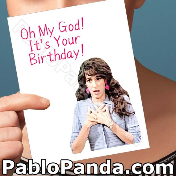 Funny birthday card friends tv show boyfriend bday card like this item negle Image collections