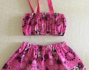 Top & Minnie Skirt / Minnie Set