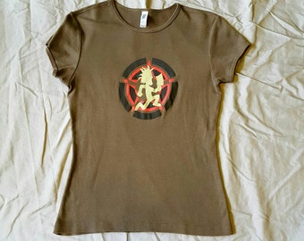 Orginial Hatchet Gear Psychopathic Army Womens Shirt
