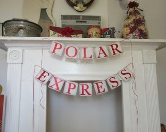 "Christmas Banner ""Polar Express"" Banner"