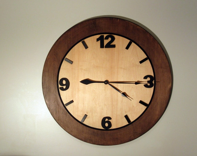 large wall clock large rustic kitchen office home decor wall