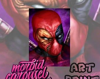 Deadpool A3 Giclee Art Print