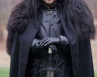 RESERVED FOR GUNTER. Jon Snow, Game of Thrones costume, knights watch costume commissions