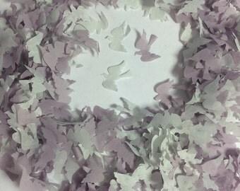 Grey Bird Dove Biodegradable Confetti - 1 litre - Fill up to 10 small Confetti Cones Eco Wedding