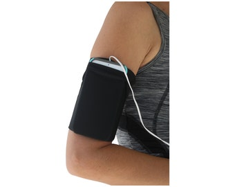 Cell Phone Running Armband Pouch Sleeve Fitness Comfortable iPhone Smartphone iPod  BLACK