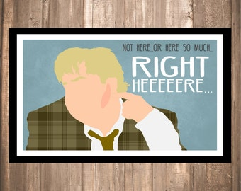 "INSTANT DOWNLOAD - Tommy Boy ""Right Here"" Print"