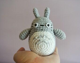 Crochet Totoro Amigurumi - Handmade Crochet Amigurumi Toy Doll - Studio Ghibli - Totoro Crochet - Amigurumi Totoro