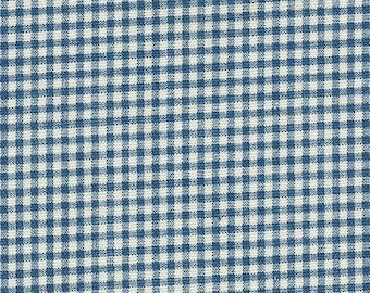 Gingham Nautical, Fabric By The Yard