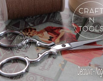 Embroidery Scissors Decouvit Range in 3 types/Decouvit Range Scissors/Unstitching Scissors/Embroidery Shears/French Scissors