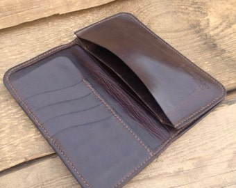 SALE!! Wallet Waxed Leather