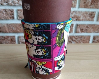 Wonder Woman Corset Style Cup Cozy