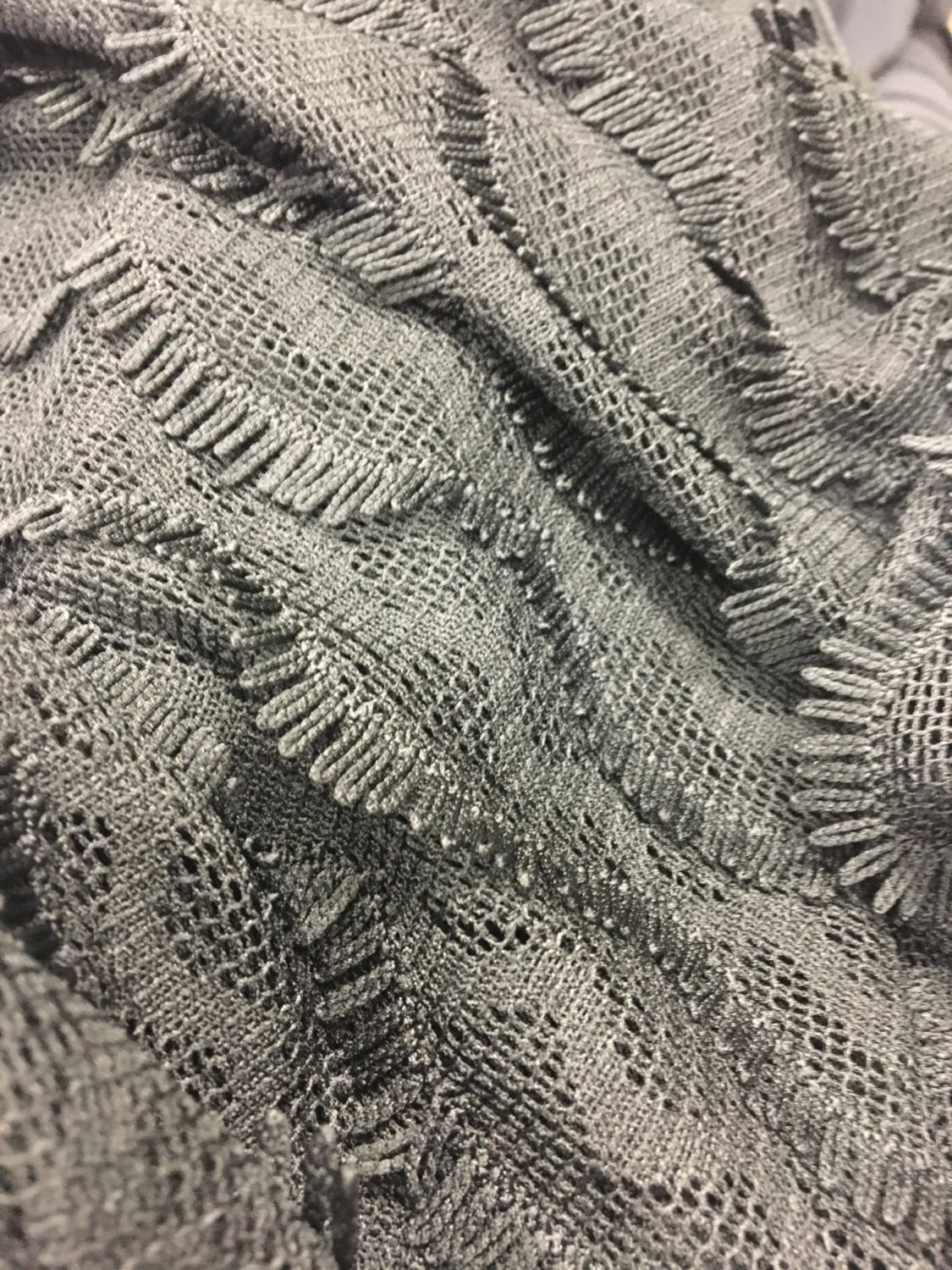 Sale black spandex lace fabric by the yard lace by the for Fabric for sale by the yard